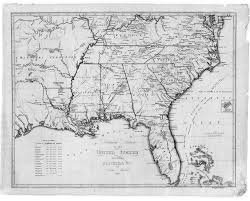 Topographical Map Of United States by Digital History