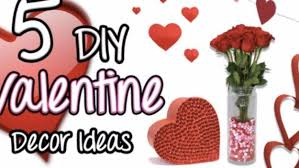 Valentine Home Decor 32 Easy Valentine Decor Ideas Diy Joy
