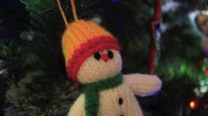 the knitted snowman christmas stop motion youtube