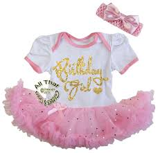1st birthday girl tutu dresses for babies birthday pink and gold glitter