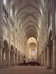 Parts Of A Cathedral Floor Plan by Gothic Architecture Notre Dame Nave And Choir Began In 1163