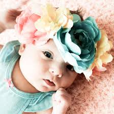 baby flower headbands baby headband gallery craftgawker