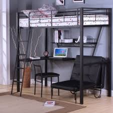 Loft Bed With Desk On Top Bunk Beds U0026 Loft Beds With Desks Wayfair
