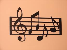 music note home decor metal wall art home decor music notes musical 18 5in long 12in tall