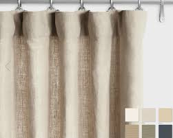 Curtains White And Grey Belgian Linen Curtains White Grey Slate Custom Curtains