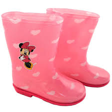 Minnie Mouse Bathroom Accessories by Disney Baby Pink Minnie Mouse And Heart Printed Rain Boots Toys