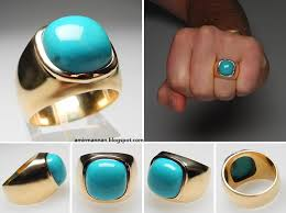 rings for men in pakistan feroza turquoise fashion gents ring jewellery collection 7