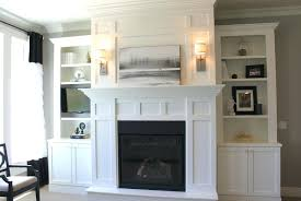 fireplace wall decor ideas fireplace wall decor with tv above faedaworks com decorating