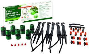amazon com elgo 6 micro sprinklers set for your garden hose