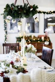 Christmas Dining Room Decorations Winter Wonderland Christmas Dining Room Decor