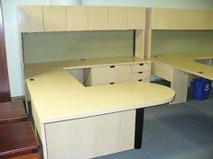 Trimonitors On Glass Desk Desks Glass Office Desk And Glass Office - Used office furniture cleveland