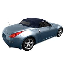 nissan canada upper james 2004 2009 nissan 350z stayfast blue convertible top