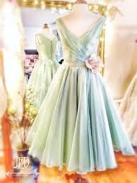 Green Wedding Dresses The 25 Best Tea Length Bridesmaid Dresses Ideas On Pinterest
