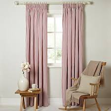 Red White Striped Curtains Best 25 White Pencil Pleat Curtains Ideas On Pinterest Pencil