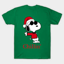 snoopy christmas t shirts snoopy joe cool is chillin this christmas snoopyjoecool t