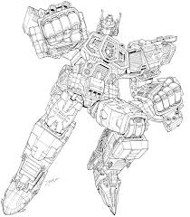 transformer coloring pages artwork for unreleased transformers energon optimus prime and