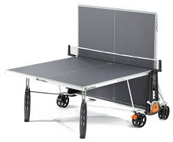 cornilleau ping pong table cornilleau 250s crossover indoor outdoor gray ping pong table