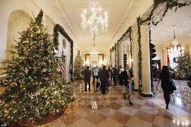 White House Decor White House Christmas Michelle Obama Unveils Holiday Decorations