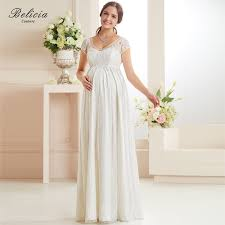 Wedding Dresses For Pregnant Women Belicia Couture Overall Lace Maternity Wedding Dress Bridal Gown