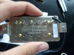 replacing to seymour duncan rodded pickups jazz and jb pickup