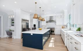 green kitchen cabinets with white island two tone kitchen cabinets ideas designs colors pictures