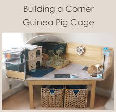 making a corner desk building a corner diy c and c style guinea pig cage with a perspex
