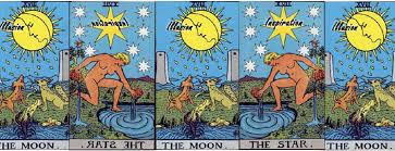 the and the moon tarot card meanings the tarot channel
