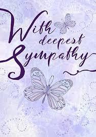 sympathy card sympathy cards funky pigeon