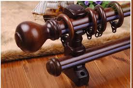bastoni per tende in legno prezzi nuovo arrivo lusso 30mm diametro legno doppio bastoni per tende