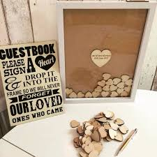 wedding guest book picture frame modern and guest book ideas las vegas wedding planners