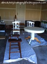 Loving Life Refinished Craigslist Kitchen Table No Streaks And - Sanding kitchen table