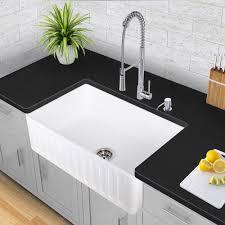 Kitchen Sink Shop by Vigo Industries Vgra3318cs 33 Inch Matte Stone Single Bowl