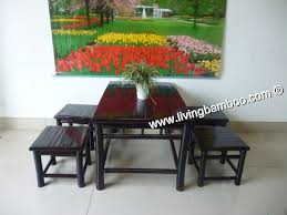 Bamboo Dining Room Chairs Bamboo Outdoor Furniture