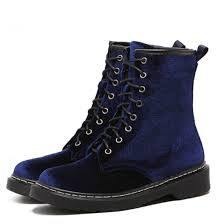 fashion motorcycle boots england style womens genuine velvet martin boots shoes women boots