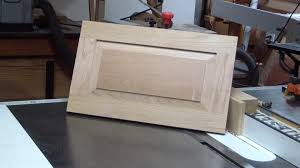 Make Raised Panel Cabinet Doors Make A Raised Panel Door With Table Saw
