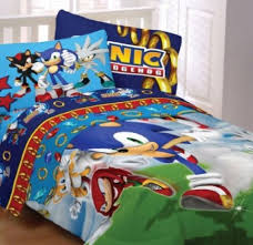 amazon black friday bedding andy u0027s choice amazon com sega sonic the hedgehog twin comforter