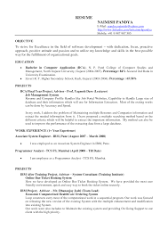 A Good Example Of A Resume 100 Examples Of A Good Indian Resume Best Human Resources