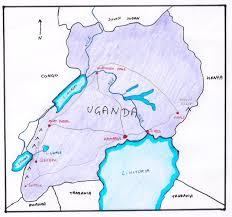 Nile River On Map Uganda Nile River Connections
