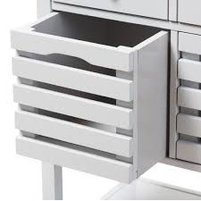 denver white modern kitchen cart baxton studio jaden modern and contemporary light grey finished