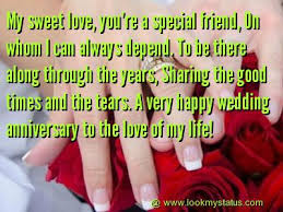 Happy Anniversary Best Wishes Messages Happy Anniversary Wishes Images Messages Lookmystatus