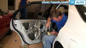 how to install replace rear power door lock actuator honda accord