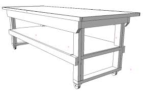 how to build a work table workbench you can build in an afternoon woodworking blog