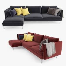 3d Home Design Software Ikea Model Ikea Soderhamn Sofa Chaise