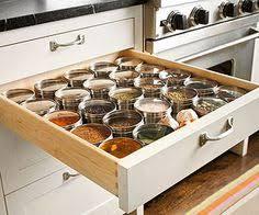 Kitchen Cabinet Spice Organizers Love This Diamond Kitchen Cabinet Storage Idea Excellent Way To