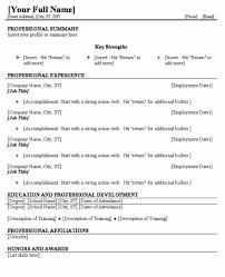 blank resume templates blank resume template
