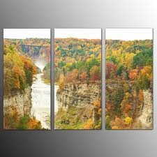 framed photo canvas art prints red waterfall wall art canvas