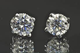big stud earrings luxury big stud diamond earrings allezgisele diamonds