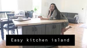 how to build a small kitchen island with cabinets how to make a kitchen island 200 kitchen island