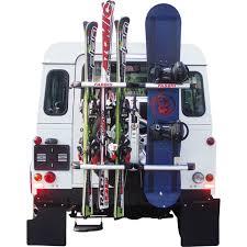 porta snowboard auto porta sci e snowboard fabbri board ski per ruota posteriore 4x4