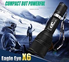 eagle view tattoo machine lights eagle eye x6 cree xpl hi v21a 1200lm 18650 led flashlight 25 70